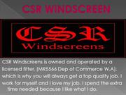 Professional Windscreen Repair or Replacement Services