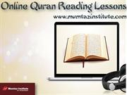 Online Quran Reading Lessons