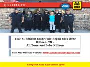 Your Reliable Tire Shop near Killeen TX - All Tune and Lube Killeen