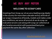 scrap cars Coventry