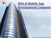 Web & Mobile App Development Company in India