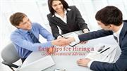 Easy Tips for Hiring a Good Investment Advisor