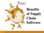 Benefits of Supply Chain Software