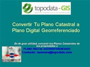 Convertir de Tu Plano Catastral a Plano