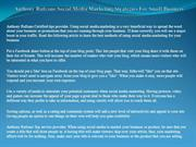 Anthony Rufrano Social Media Marketing Strategies For Small Business
