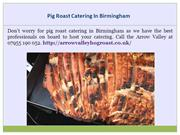 Hog Roast Catering In West Midlands