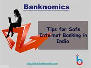 Tips for Safe Internet Banking in India