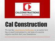 Cal Construction - Concreters In Melbourne