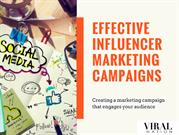 Effective Influencer Marketing Campaigns