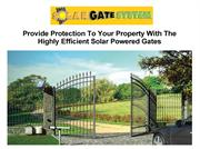 Provide Protection To Your Property With The Highly Efficient Solar Po