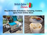 Buy All Kinds of Outdoor, Camping, Coolers, Igloo From Online Store