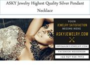 ASKY Jewelry Highest Quality Silver Pendant Necklace