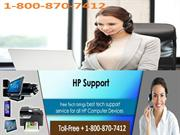 USA -FREE- HP Printer Technical Support Number 1800 870 7412 Canada He