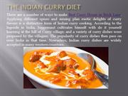 The Indian Curry Diet