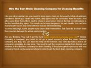 Hire the Best Drain Cleaning Company for Cleaning Benefits