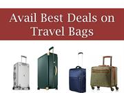Avail Best Deals on Travel Bags