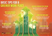Basic Tips for a Greener Work Place