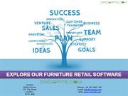 EXPLORE OUR FURNITURE RETAIL SOFTWARE