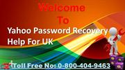 Yahoo Customer Care Number UK 0-800-404-9463 For Quick  Help