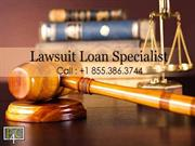 Get Non-Recourse Lawsuit Financing At Lowest Rate - Call 855.386.3744