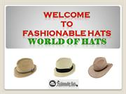 Fashionable Fedora Hats for Men and Women