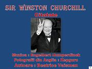 Sir  Winston  Churchill - Citate
