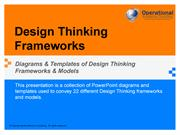 Design Thinking Frameworks