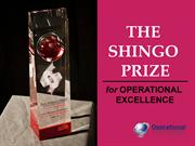 The Shingo Prize for Operational Excellence