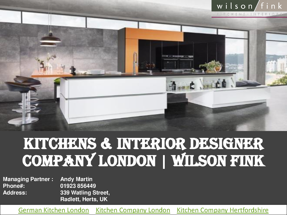 Kitchen Company North London Wilson Fink Authorstream