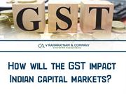 How will the GST impact Indian capital markets
