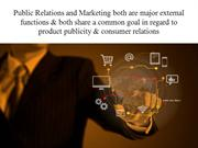 What are the functions of PR & Marketing? By Best PR Agency