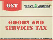 Ways2capital : The GST impact in all the sectors.