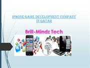 iPhone Game Development Companies in Doha-bmtechnologies