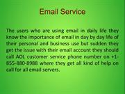 Email Support Number  +1-855-880-8988