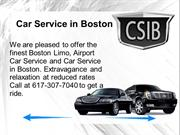 Car Service in Boston We Make Your Journey More Happy, More Safe.