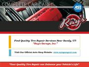 Find Your Quality Tire Repair Services Near Sandy, UT