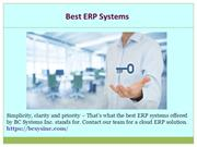 ERP Based Software