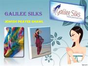 Jewish prayer shawl patterns at Galileesilks