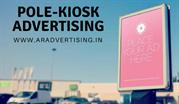 Pole Kiosk (Mumbai, Navi Mumbai, Thane) by AR Advertising Media Pvt