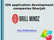 iOS application development companies Sharjah