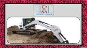 Attachments You Can Get In Your Excavator Hire Brisbane Package