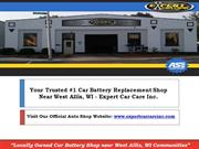 Find West Allis WI Car Battery Replacement near me