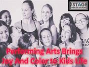 Performing Arts Brings Joy And Color to Kids Life