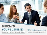 4 Business Incorporation Mistakes you should avoid