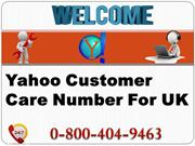 Just Dial Yahoo Customer Support Number UK 0-800-404-9463