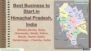 Best Business to Start in Himachal Pradesh, India