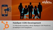 Misunderstanding about Develop Website with Hubspot COS Templates