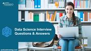 Data Science Interview Question and Answer for Fresher and Experience