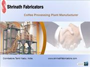 Coffee Processing Plant Manufacturer