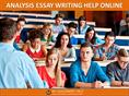 ANALYSIS ESSAY WRITING HELP ONLINE